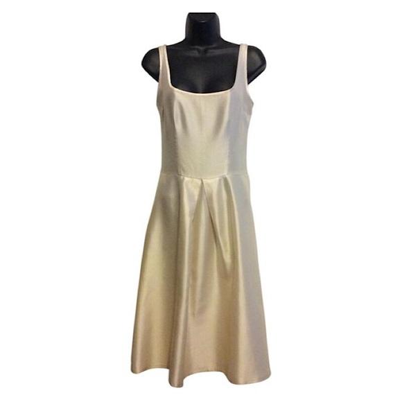 Cynthia Rowley Dresses & Skirts - Cynthia Rowley Ivory Silk Cocktail Dress